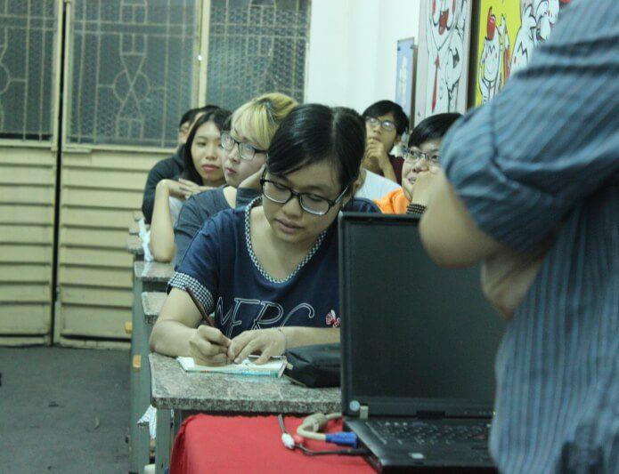 Quách Tố Châu học viên lớp học vẽ truyện tranh cấp tốc khóa 5
