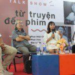 Tiến sĩ Đào Lê Na tại talkshow về biên kịch Từ truyện đến phim