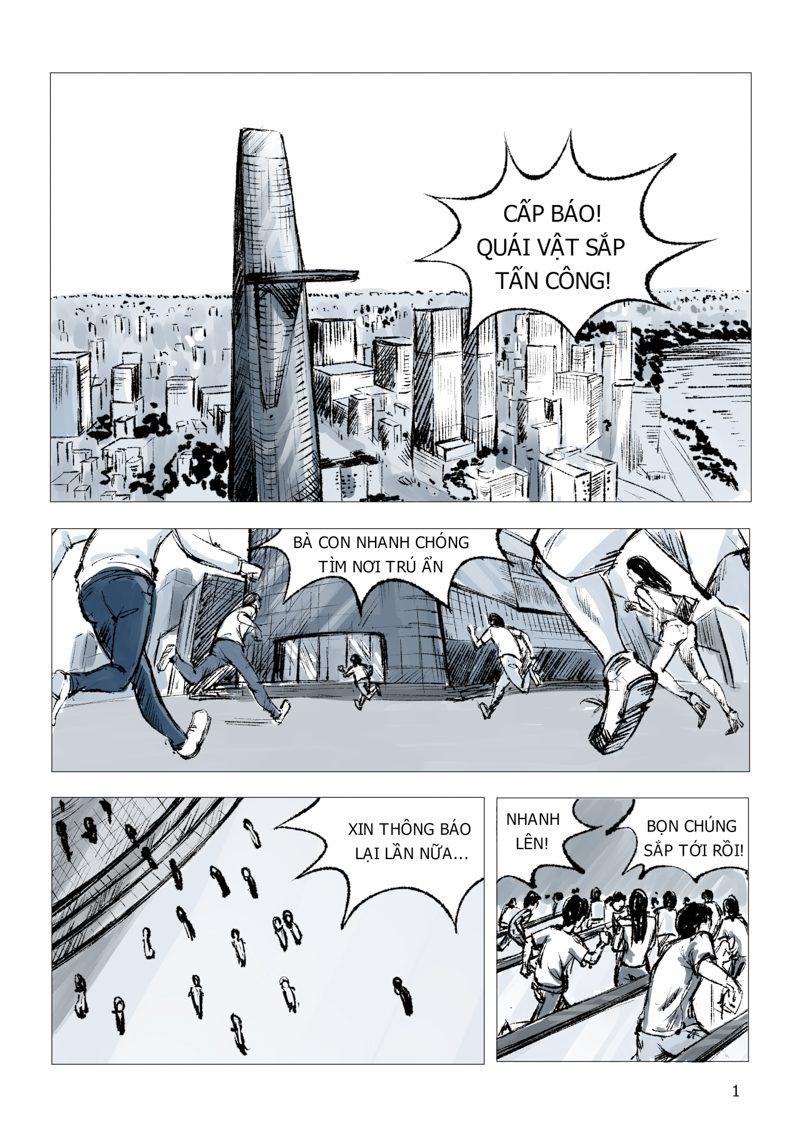 truyện tranh Anh Hùng 01