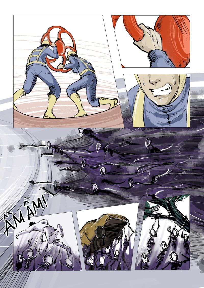 truyện tranh Anh Hùng 07