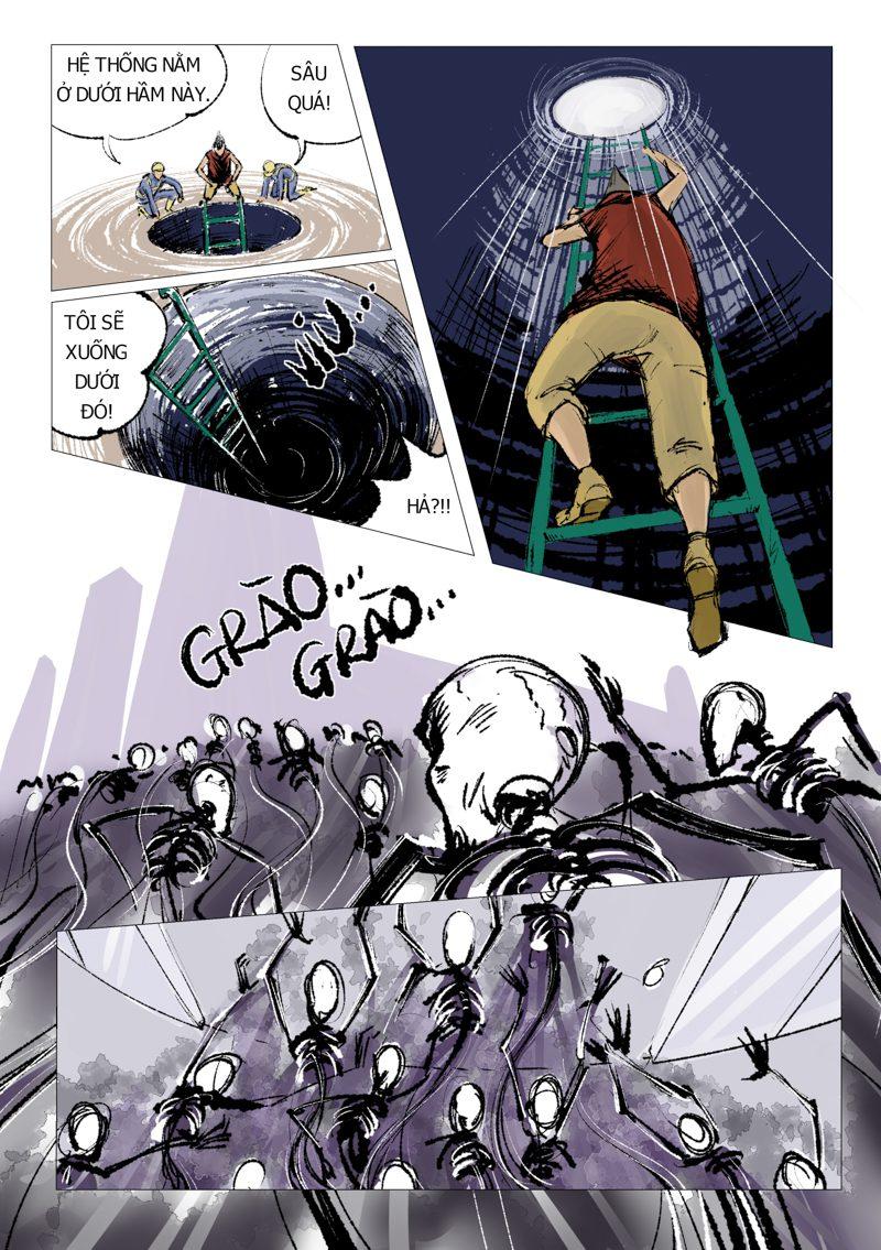 truyện tranh Anh Hùng 12
