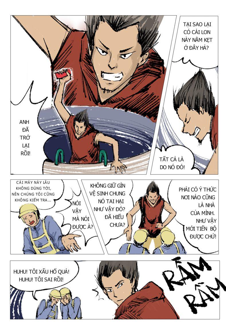 truyện tranh Anh Hùng 14