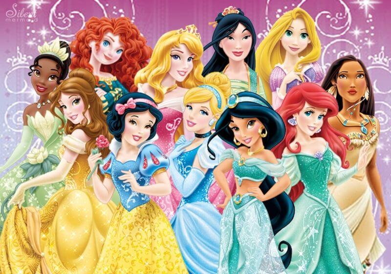 13 bài h�c từ những nàng công chúa Disney