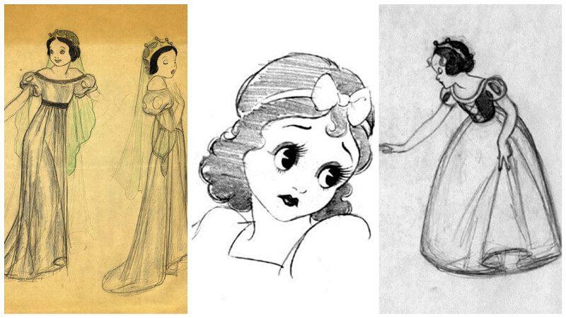 19 bản thiết kế nhân vật của DIsney
