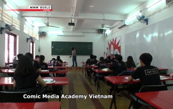 Phóng sự về Viện Truyện tranh và Hoạt hình – NHK World, Japan