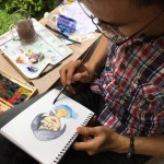 Viện Truyện tranh và Hoạt hình tại Ngày hội hoa hướng dương