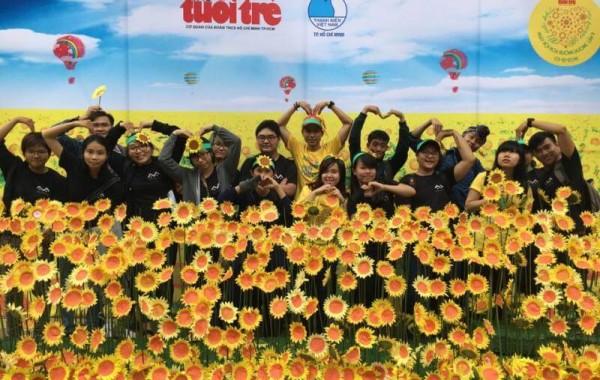 CMA đồng hành cùng Ngày hội hoa hướng dương lần 9