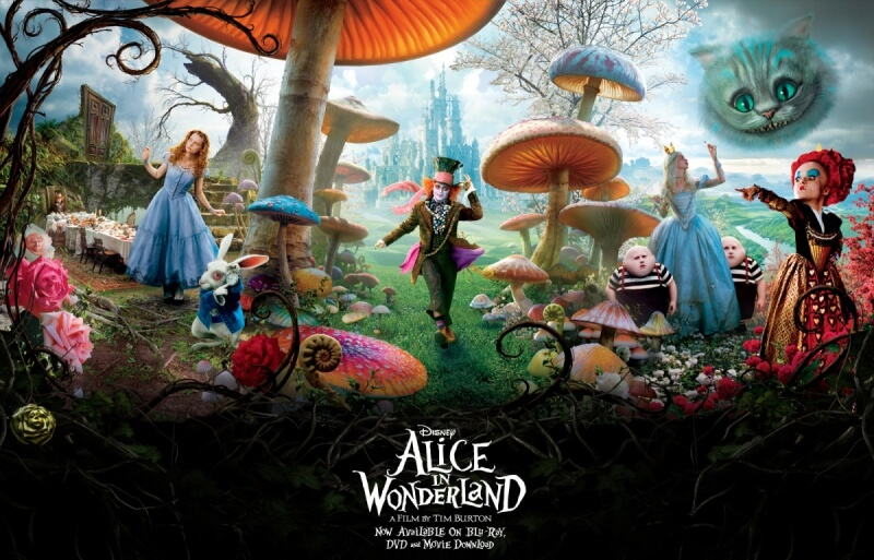 Alice in wonderland được chắp bút bởi biên kịch Linda Woolverton