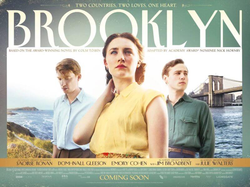 Bộ phim Brooklyn do biên kịch Nick Hornby chắp bút