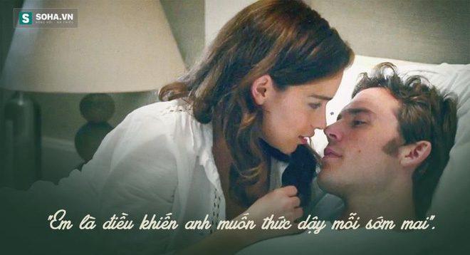 Cảnh lãng mạn trong phim Me Before You của biên kịch Jojo Moyes