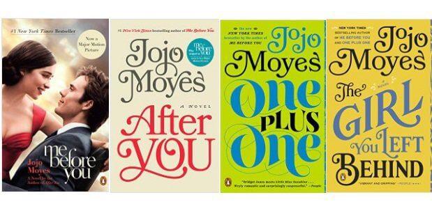 Những tác phẩm thành công của biên kịch Jojo Moyes