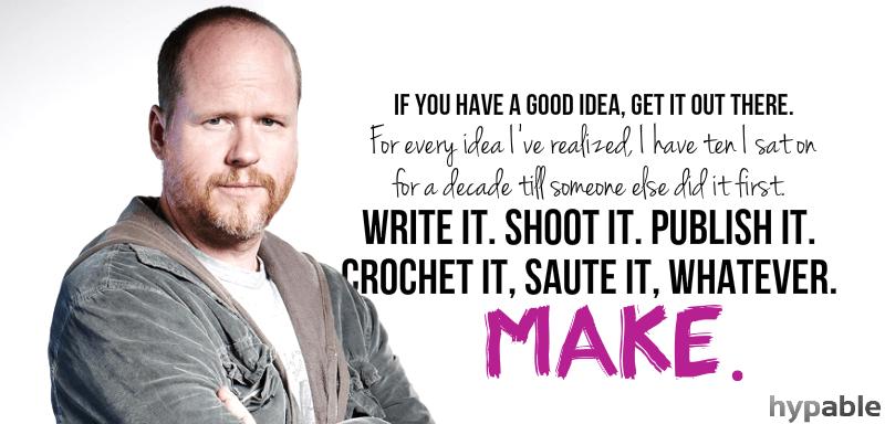 quote ấn tượng của biên kịch Joss Whedon