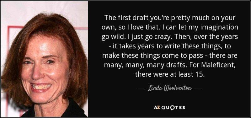 Quote đầy triết lý của biên kịch Linda Woolverton