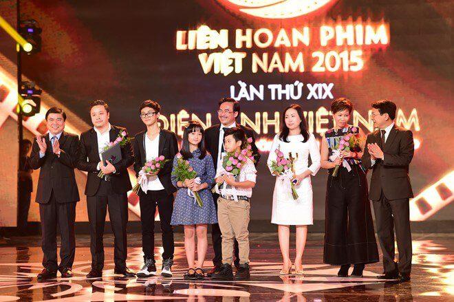Tôi thấy hoa vàng trên cỏ xanh nhận giải thưởng trong Liên hoan phim Việt Nam 2015