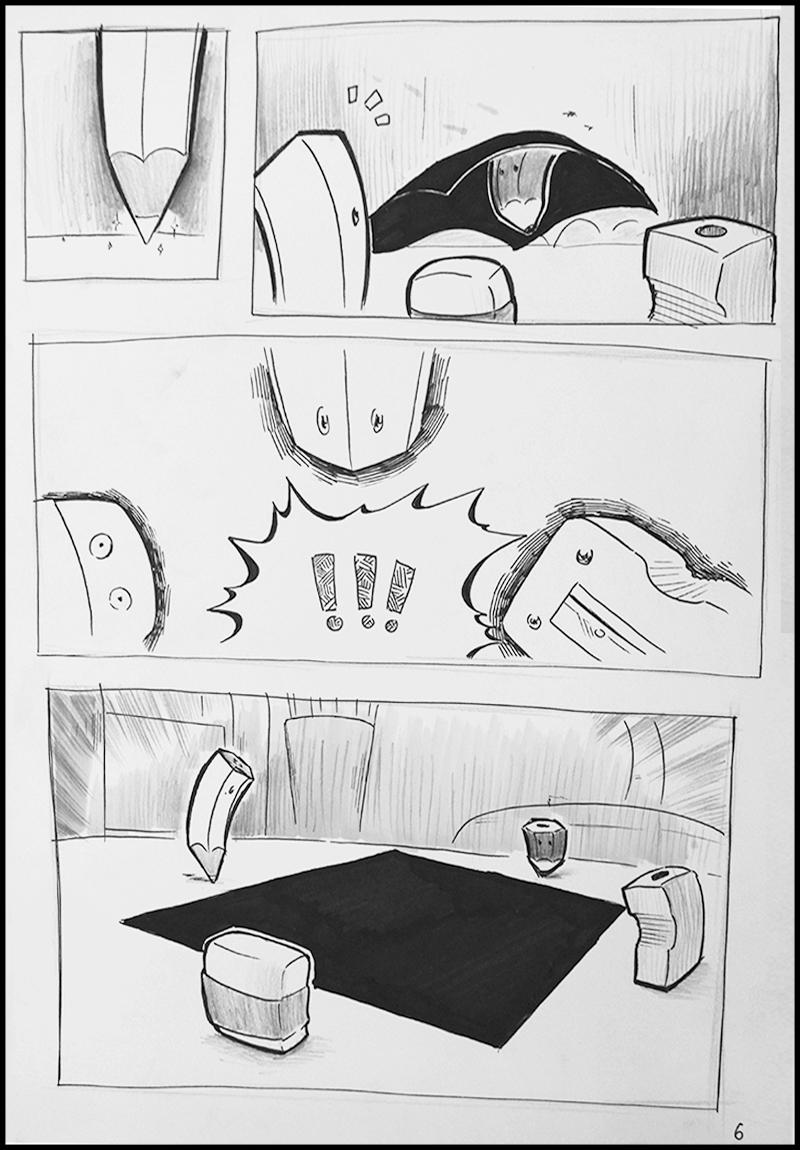 Truyện tranh Bút Chì Trắng 5