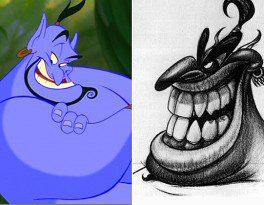 10 bản concept art của phim hoạt hình Disney Genie