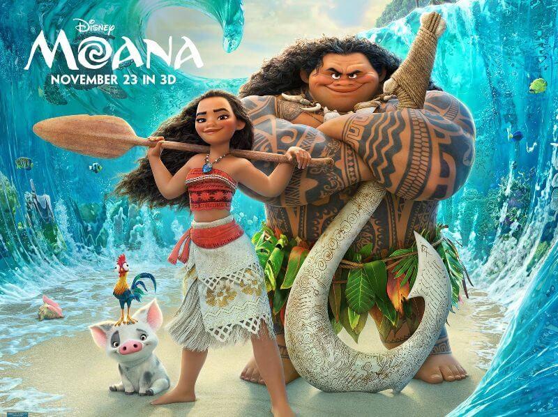 Bộ phim Moana được viết bởi biên kịch Jared Bush