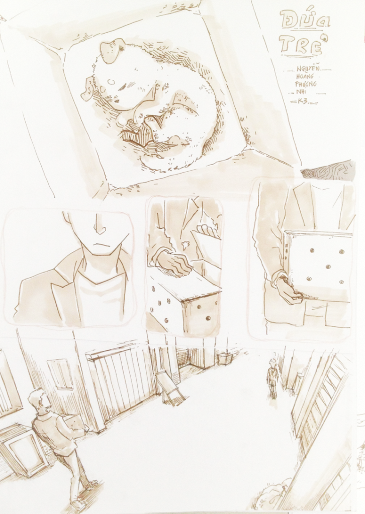 đồ án truyện tranh Đứa Trẻ 01