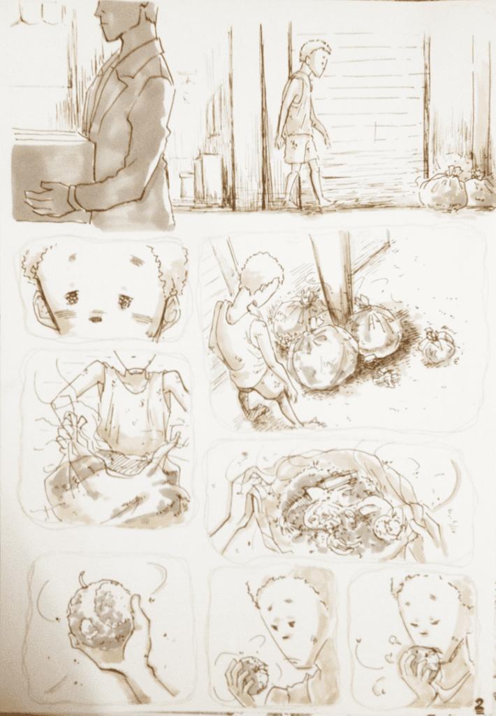 đồ án truyện tranh Đứa Trẻ 02