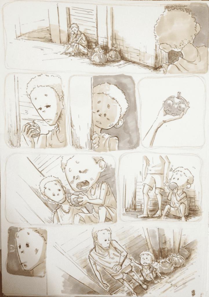 đồ án truyện tranh Đứa Trẻ 03