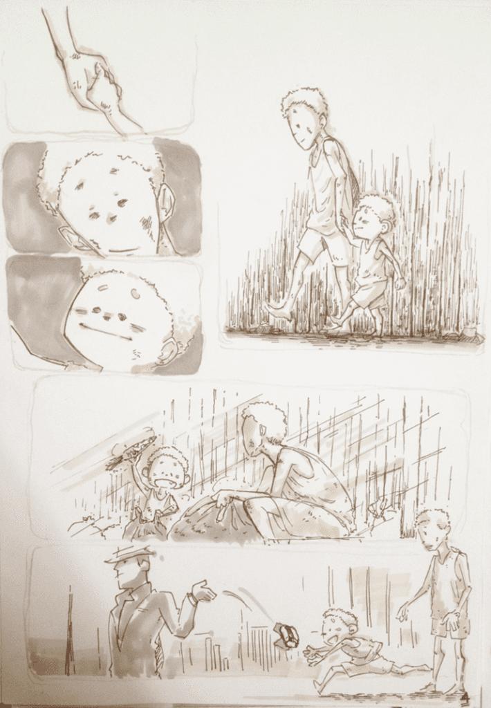 đồ án truyện tranh Đứa Trẻ 04