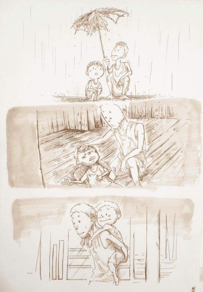 đồ án truyện tranh Đứa Trẻ 05