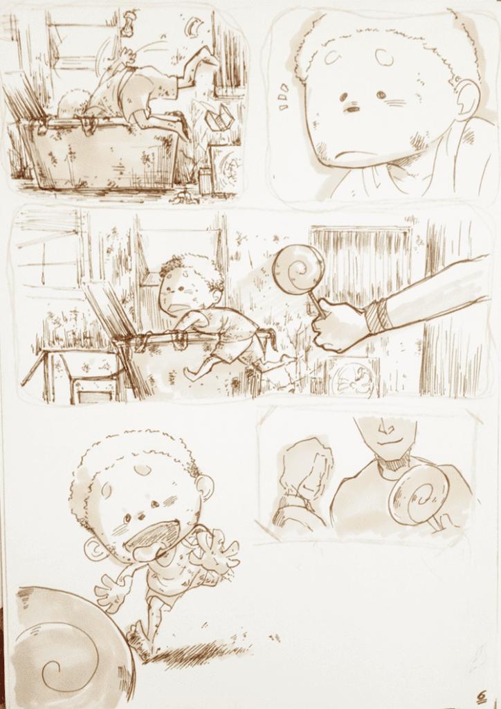 đồ án truyện tranh Đứa Trẻ 06