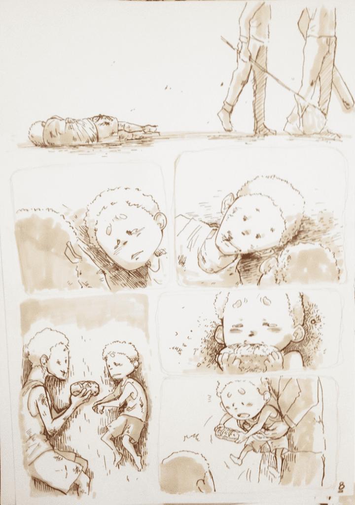 đồ án truyện tranh Đứa Trẻ 08