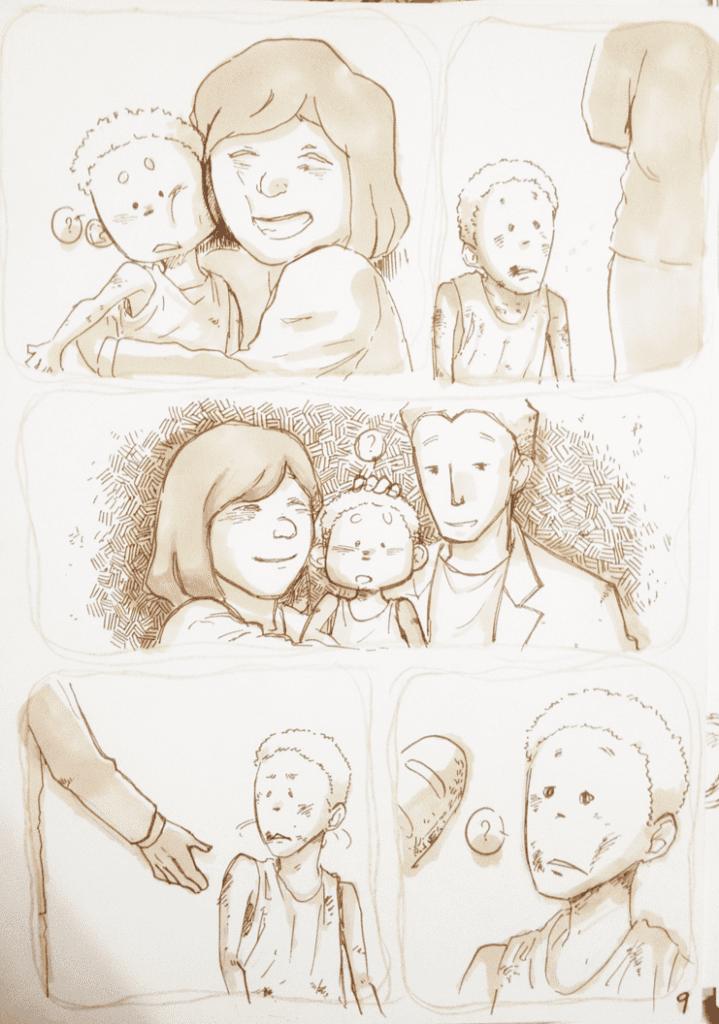 đồ án truyện tranh Đứa Trẻ 09