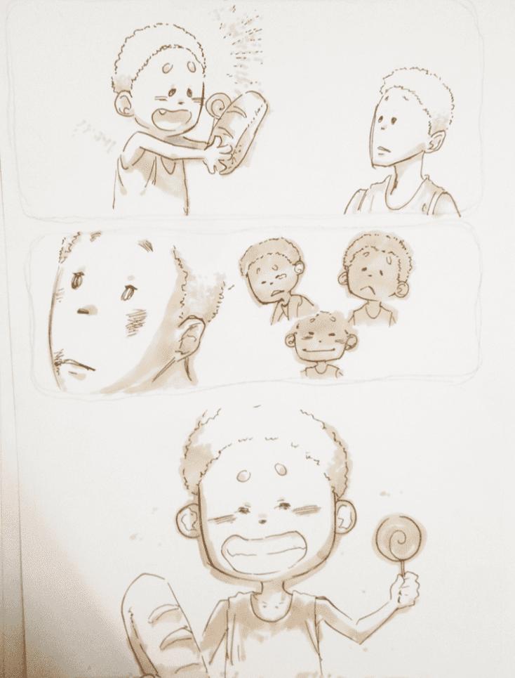 đồ án truyện tranh Đứa Trẻ 10