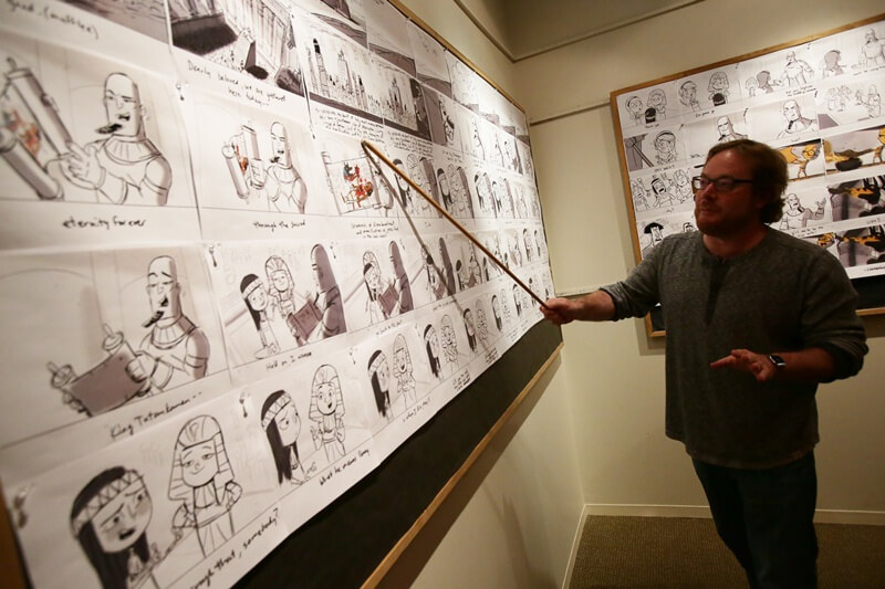 Họa sĩ vẽ storyboard