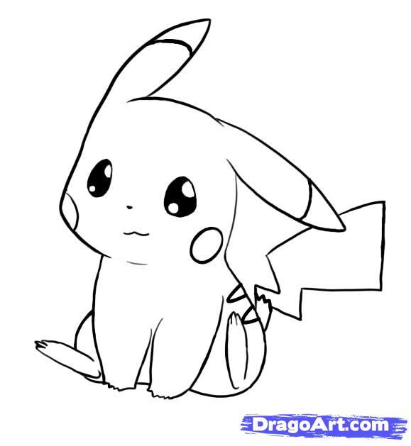 Tô màu Pikachu