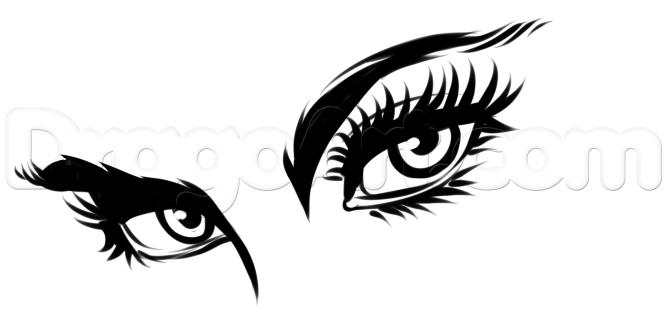 Tô màu vẽ mắt comic