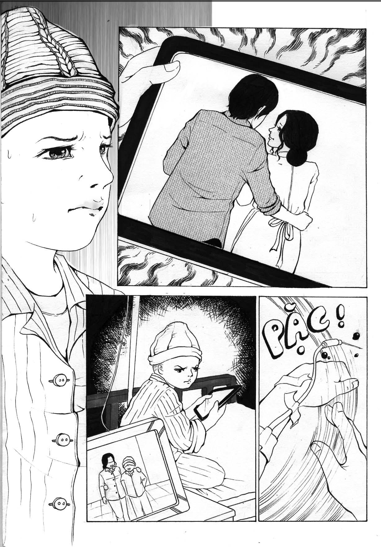 truyện tranh Mẹ Con Trai và Chú ấy 04