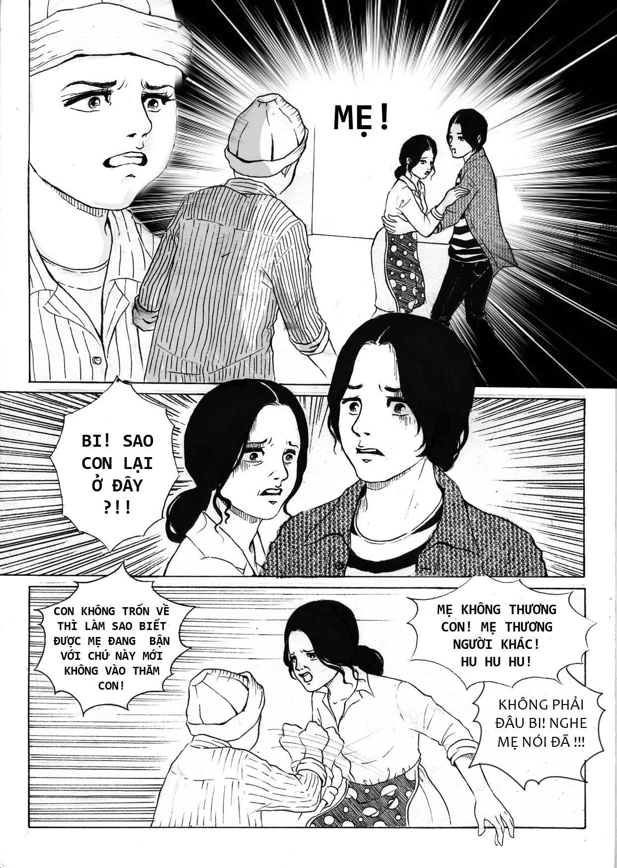 truyện tranh Mẹ Con Trai và Chú ấy 06