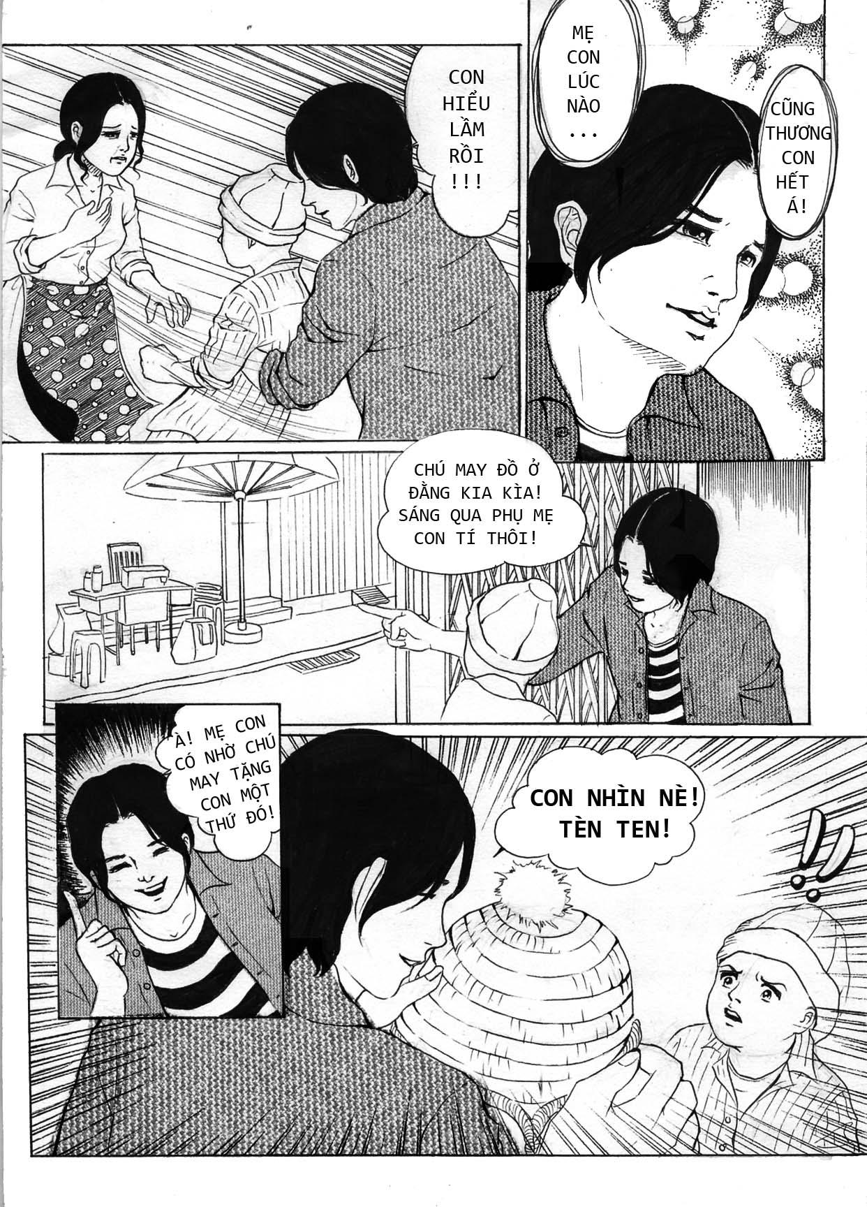 truyện tranh Mẹ Con Trai và Chú ấy 07