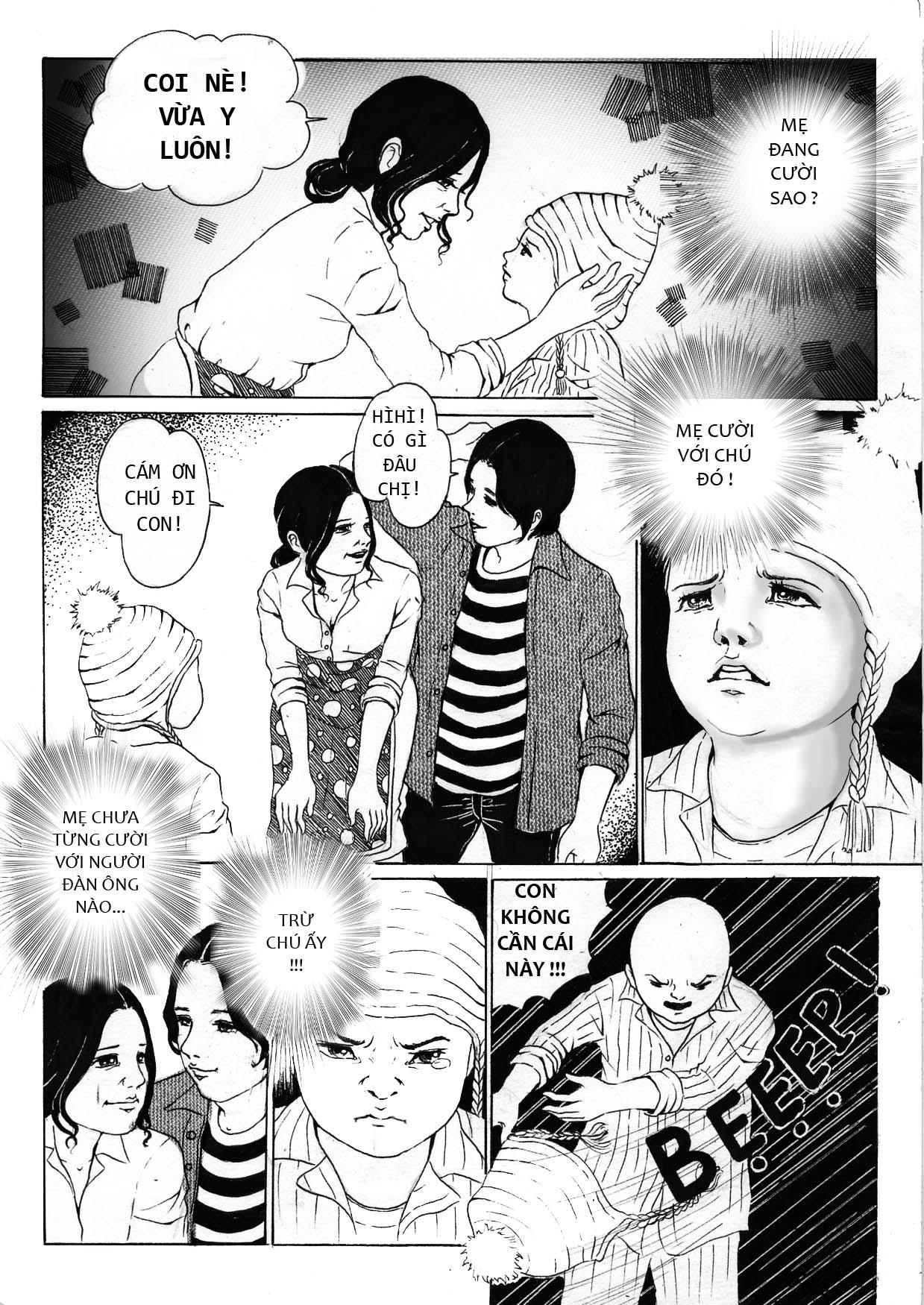 truyện tranh Mẹ Con Trai và Chú ấy 08