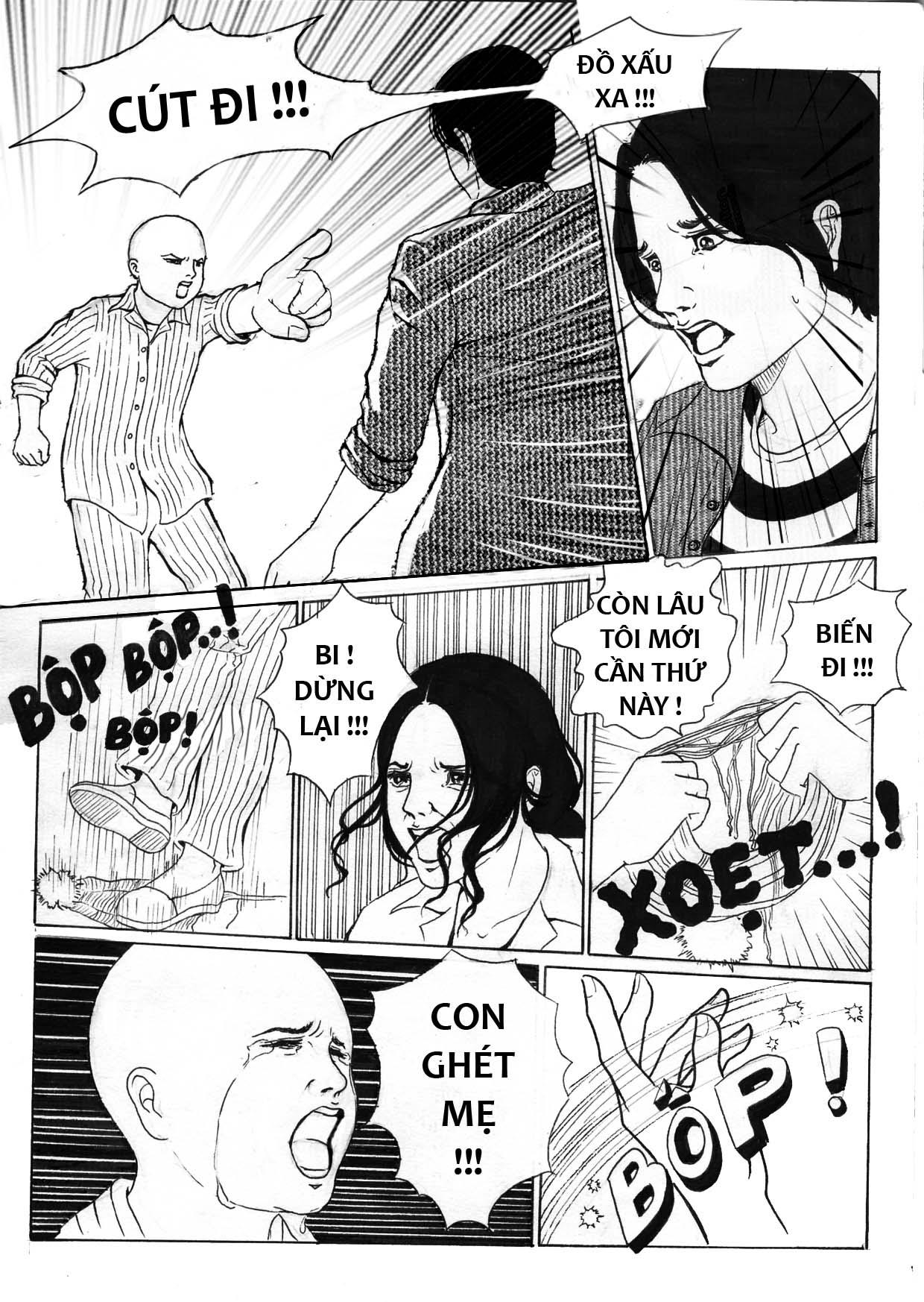 truyện tranh Mẹ Con Trai và Chú ấy 09