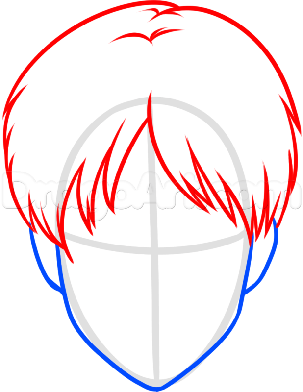 Vẽ kiểu tóc Eren
