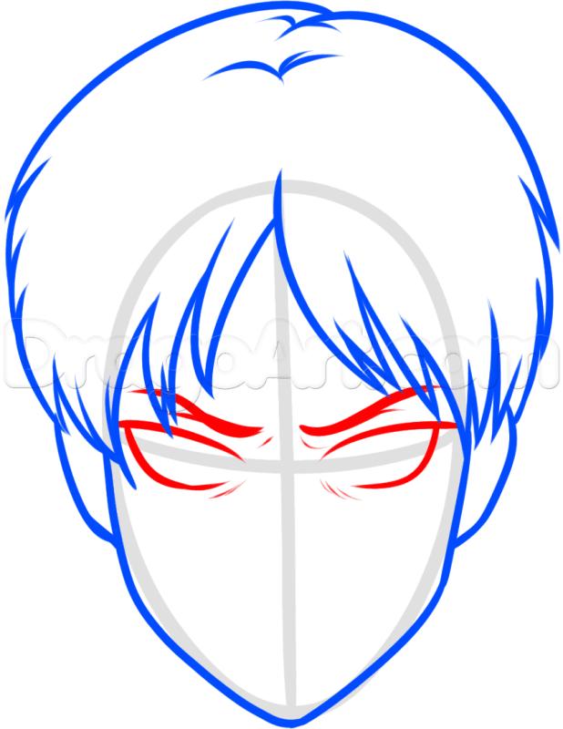 Vẽ lông mày Eren