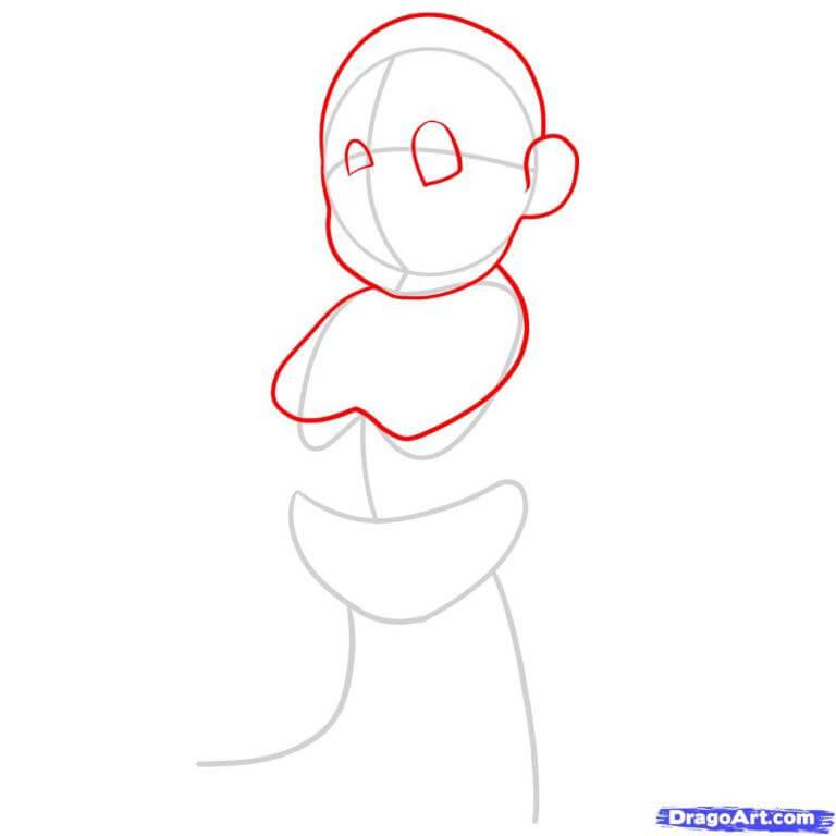 Vẽ Mario phần tay