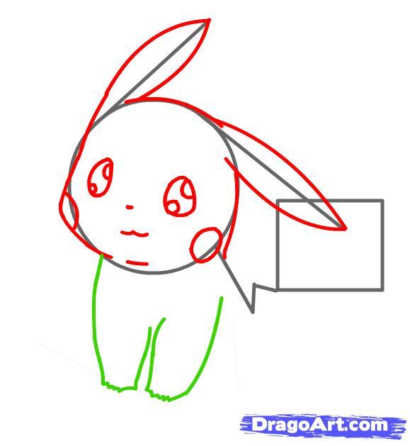 Vẽ tay Pikachu