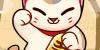 11 bước vẽ mèo Maneki Neko may mắn siêu đáng yêu