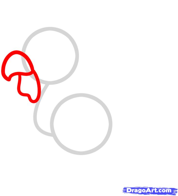 Choáng với cách vẽ chú gà trông cực đơn giản 2
