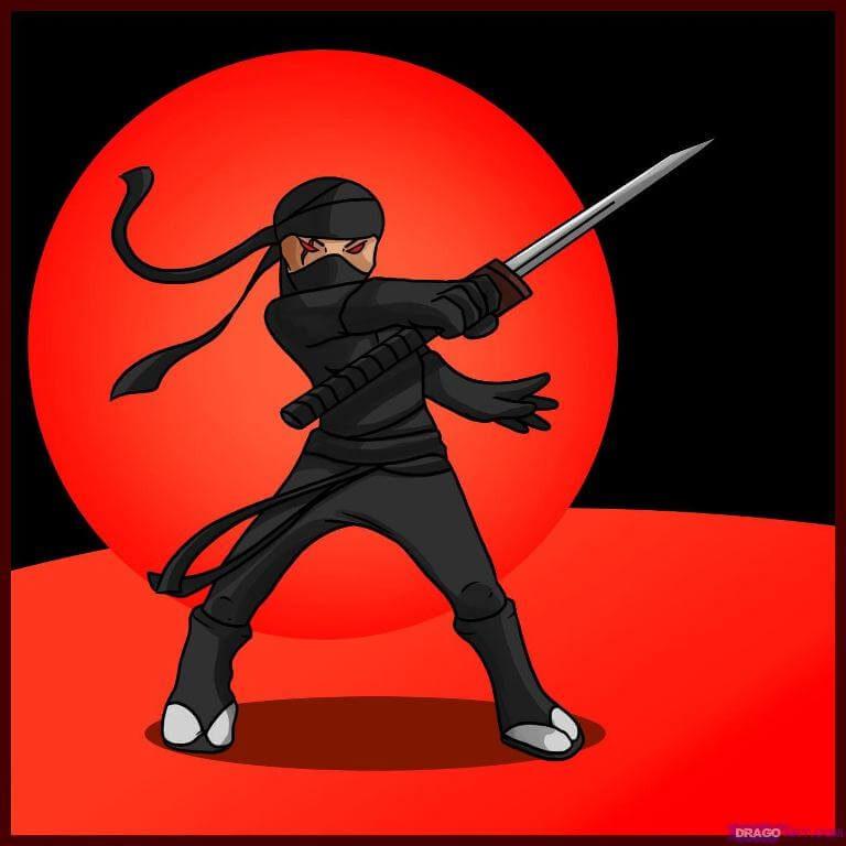 Dễ dàng học vẽ chiến binh Ninja chỉ trong 6 bước