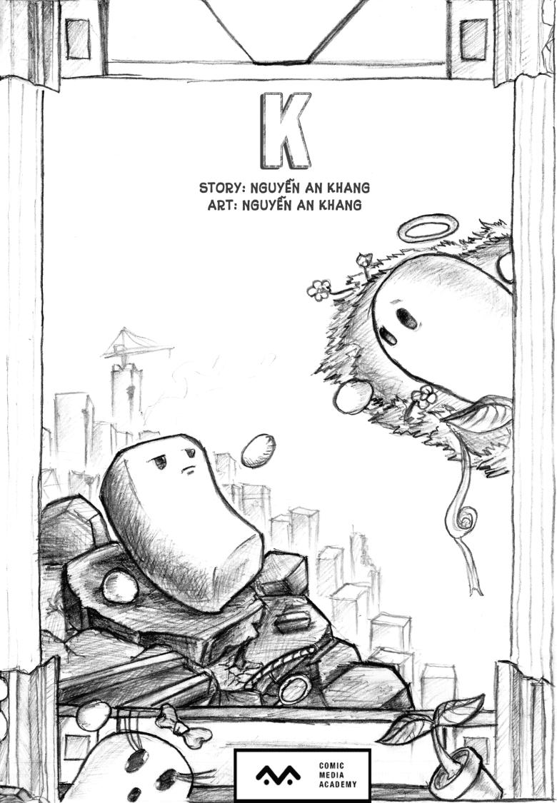 đồ án truyện tranh K trang bìa