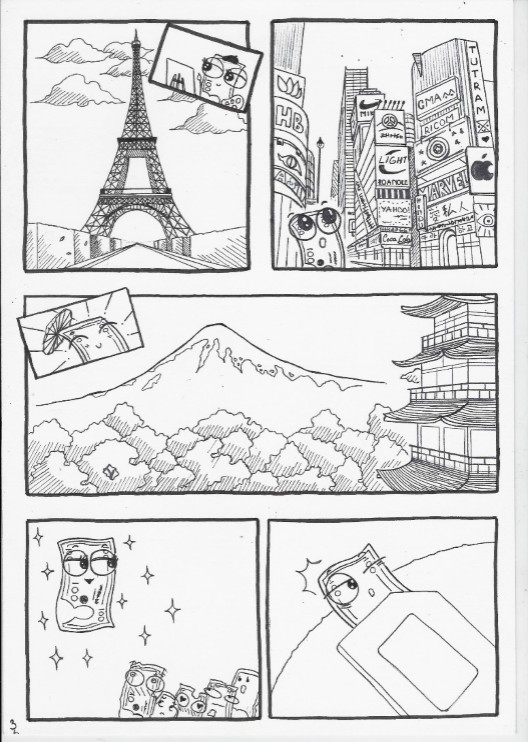 đồ án truyện tranh chuyện tờ tiền 03