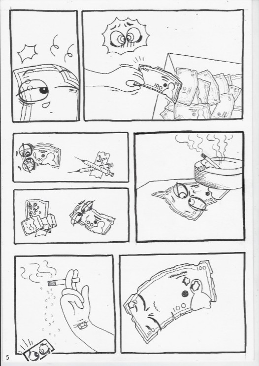 đồ án truyện tranh chuyện tờ tiền 05
