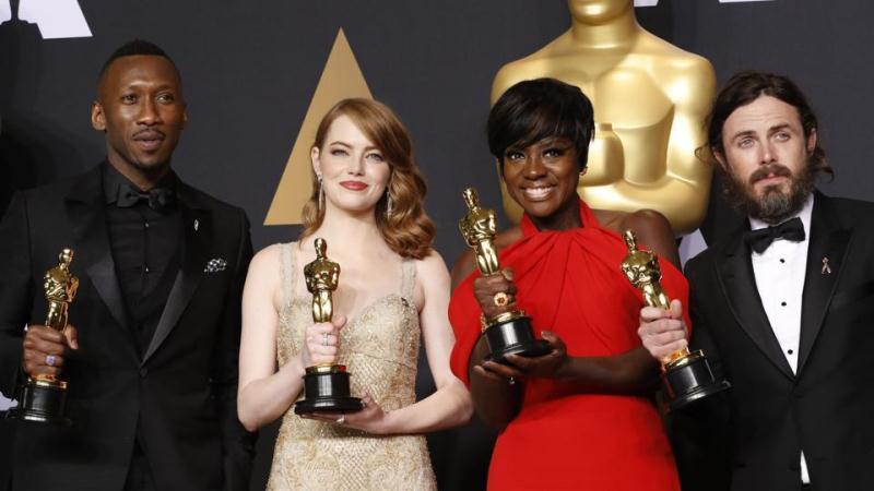 Giải thưởng Nam Nữ diễn viên chính phụ xuất sắc nhất Oscars 2017