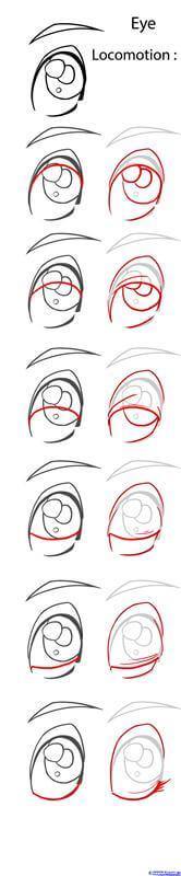 Gợi ý về đôi mắt anime